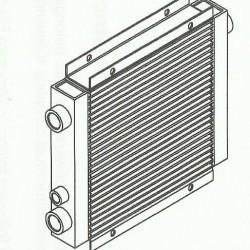 Promiennik do chłodnicy LD 023